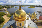 Nilo-Stolobensk monastery . Russia — Stock Photo