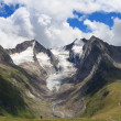 Retreating glacier — Stock Photo