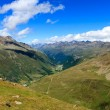 Alps view at valley — Stock Photo