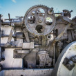 Stock Photo: Abandoned Cannon Detail