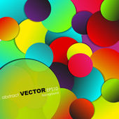 Abstract background Vector abstract banner design Esp 10 Colorful vector illustration — Stock Vector