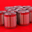 Stock Photo: Cans