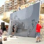 festival de arte de rua de Sliema — Foto Stock