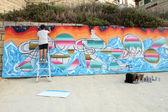 Festival street artu sliema — Stock fotografie
