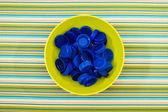 Plastic lids — Stock Photo