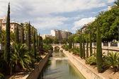 Torrente de la Riera, Passeig Mallorca — Stock Photo