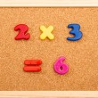 Stock Photo: Math Multiplication