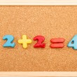 Math Addition — Stock Photo