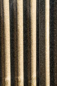 Corrugated metal — Stock Photo
