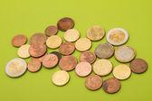 Euro coins — Photo