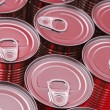 Red Cans — Stock Photo