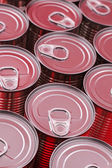 Red Cans — Stockfoto