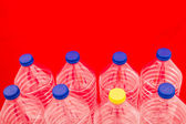 Bottles of water — Foto Stock