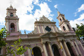 Cathedral of Salta — Stock Photo