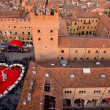Stock Photo: Vistpanoramicdi piazzdante, Verona
