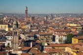 维罗纳的全景视图 — 图库照片