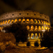 Coliseum by night, Rome Italy — Stock Photo