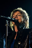 Gianna Nannini performs live at the Arena of Verona — Stock Photo