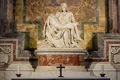 Michelangelo sculpture — Stock Photo