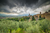 View of medieval assisi town in italy — Stockfoto