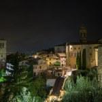 İtalya Ortaçağ assisi şehrin görünümü — Stok fotoğraf