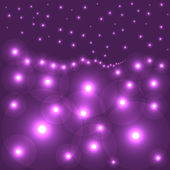 Purple circles — Stock Vector