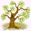 Royalty-Free Stock Vector Image: Money tree