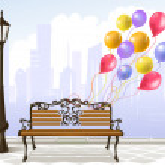 Celebration in the city — Stock Vector #40684933