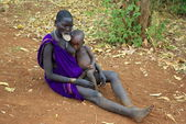 People of the Omo Valley — Stockfoto