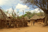 African villages — Stock Photo