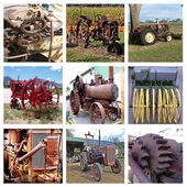 Viejo tractor — Foto de Stock