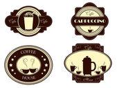 コーヒー — ストックベクタ