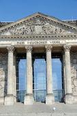 Reichstaggebäude — Stockfoto