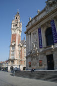 Belfry Lille france — Stock Photo