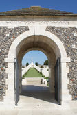 Tyne Cot Cemetary — Stock Photo