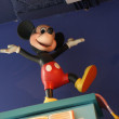Statue of Micky Mouse in the Disney Store in Barcelona — Stock Photo