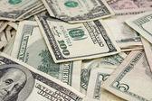 混合的美国货币 — 图库照片