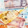 Filipino Bank Notes — Stock Photo