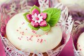 Cake, cake, ice cream, dessert. — Stock Photo