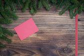 Christmas paper sheet — 图库照片
