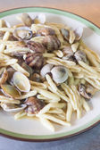 Pasta with Clams — Stock Photo