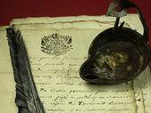 Hand written manuscript — Stock Photo