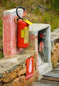 Extintor de fuego — Foto de Stock