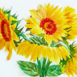 Yellow Sunflowers — Stockfoto