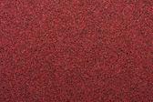 Macro Red Sandpaper — Stock Photo