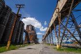 Stary silosu ziarno — Zdjęcie stockowe