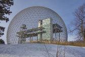 Montreal Biosphere in winter — Stock Photo