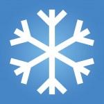 Simple Snow Flake — Stock Photo #23930913