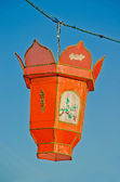 Orange Chinese Paper Lantern — Stock Photo