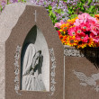 Close-up of a headstone — Stock Photo